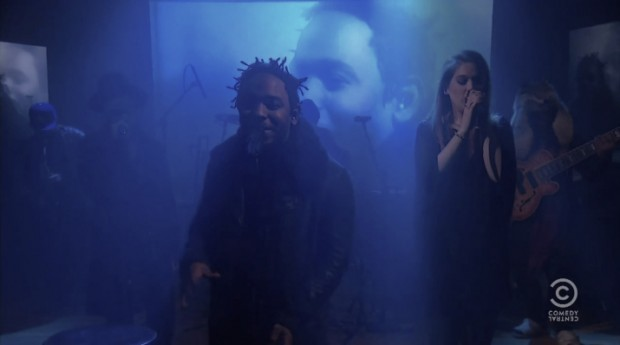 kendrick-lamar-bilal-thundercat-debut-new-song-the-colbert-report